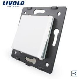 Livolo | Module | Frame | Single |  2 Way | White