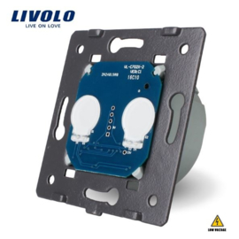 Livolo | Module | Double | 1 Way | Low Voltage | 12-24V DC