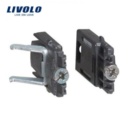 Livolo | Clamp set | Suitable for box without screw fixing