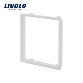 Livolo | Decorative frame for socket | White
