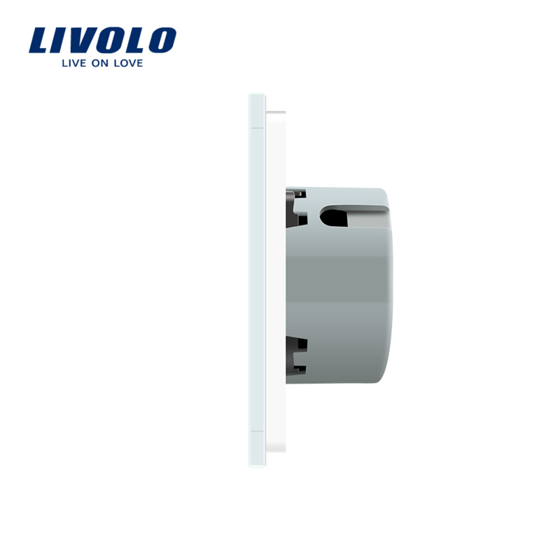 Livolo | White | 1Gang 1Way | Wall Touch Switch