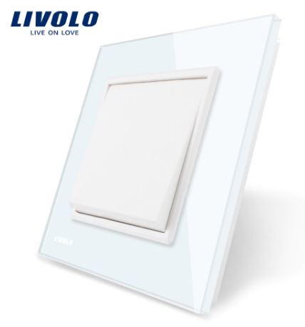 Livolo | White | 1Gang 1Way | Wall Push Switch
