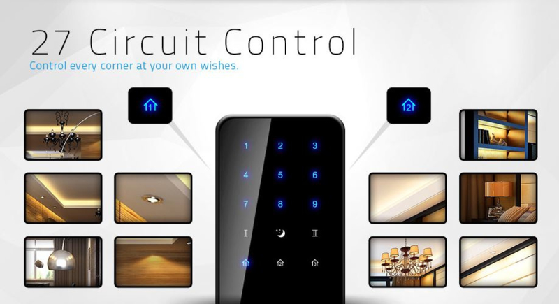 Livolo |  Touch Remote Controller | 27 switches