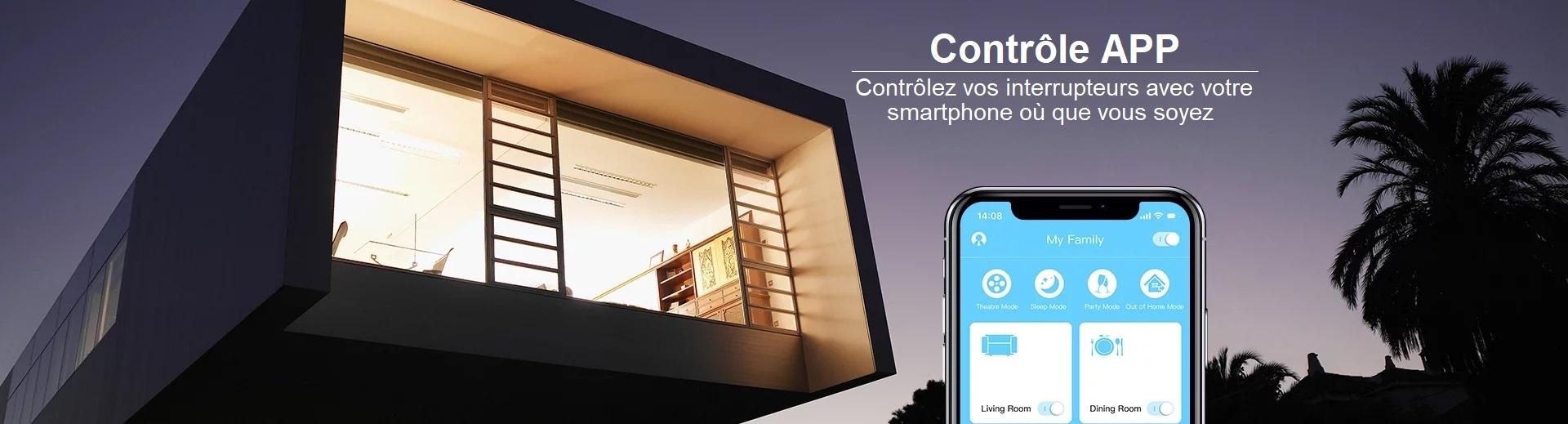 LIVOLO | Contrôlez vos interrupteurs avec votre smartphone où que vous soyez