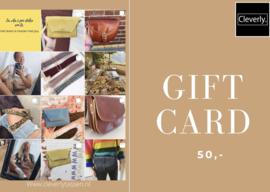 Gift Card 50,-