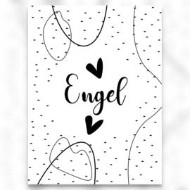 Engel - (hartje) - A6