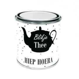 Blikje Thee HIEP HOERA (kado pakketje)