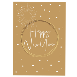 Happy New Year - bruin - A6