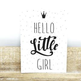Hello Little Girl - A6
