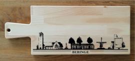 Borrel-serveerplank skyline Beringe