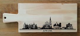 Borrel-serveerplank skyline Swalmen/Zjwame