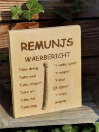 REMUNJS WAERBERICHT