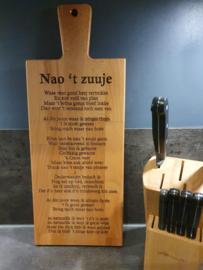 Borrel-serveerplank Nao 't Zuuje