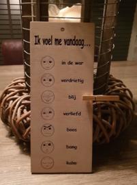 Ik voel me vandaag... 2.0  Emoticons die eenvoudig je (kind) helpen (zijn/haar) emoties te uiten.