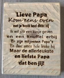 Lieve Papa / Mama