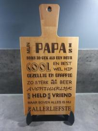 PAPA brood - borrel - serveerplank