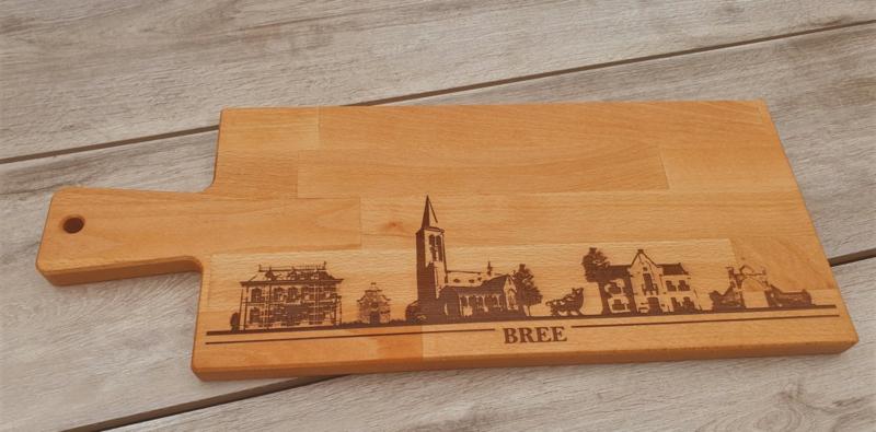 Borrel-serveerplank skyline  BREE / MAABREE