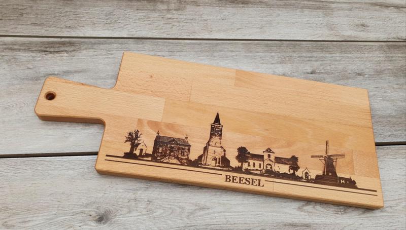 Borrel-serveerplank skyline Beesel