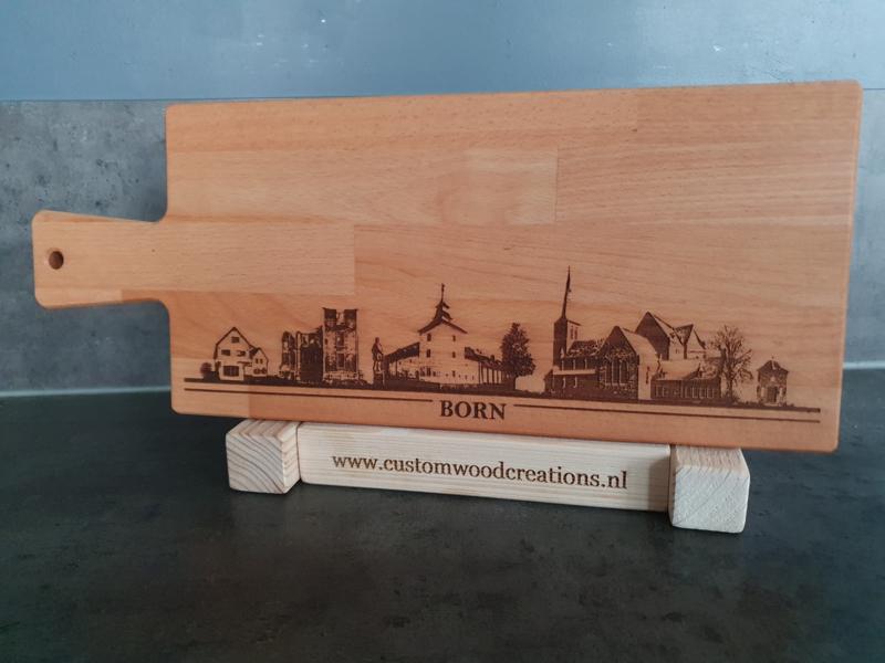 Borrel-serveerplank skyline BORN
