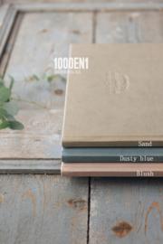 Guest book blindpress 24 cm x 24 cm / 9.4 inch x 9.4 inch