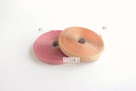 Personalized photo album natural linen