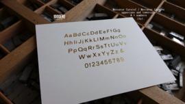 Gastenboek met  losse blanco kaarten (bestelbaar in 3 formaten)