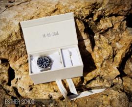 Ringendoosje voor horloge en ring