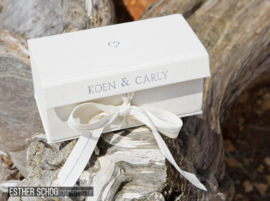 Personalized  ring box for watch & wedding ring