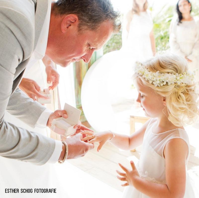 Ringendoosje voor bruidsmeisje