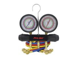 2-weg manometerset R22/R134A/R404A/R410A
