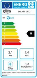 Argo SWAN EVO -tot max. 25 m2 - Koelen, ventileren en ontvochtigen