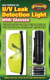 UV lamp met bril