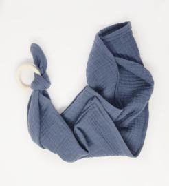 Tutteldoek hydrofiel - Jeans blauw