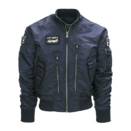 F35 Flight jacket blauw