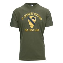 T-shirt 81st Cavalry Groen