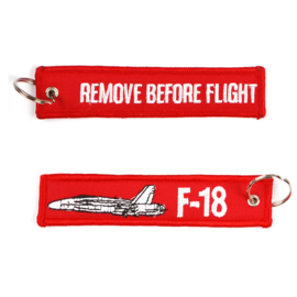 Sleutelhanger F-18 Remove Before Flight
