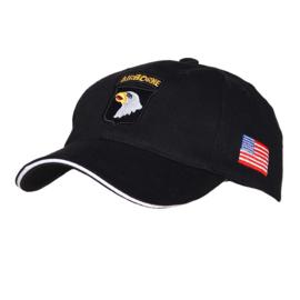 Baseball Cap 101st Airborne Zwart