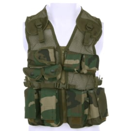 Kinder Tactical Vest Woodland