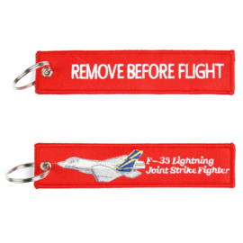 Sleutelhanger F-35 JSF Remove Before Flight