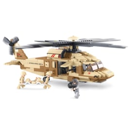 Sluban Black Hawk Helicopter B0509