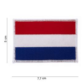 Embleem Stof NL Vlag