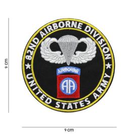 Embleem Stof 82nd Airborne USA