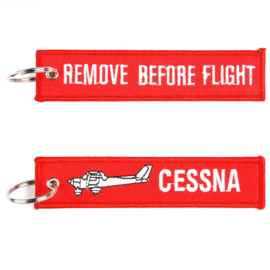 Sleutelhanger Cessna Remove Before Flight
