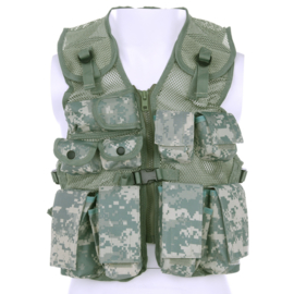 Kinder Tactical vest ACU Camo