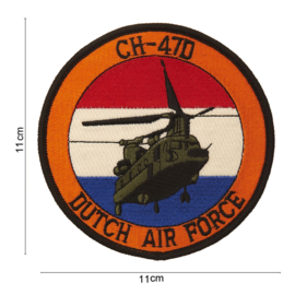 Embleem Chinook CH47 Dutch