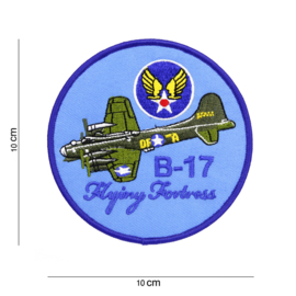 Embleem B-17 Flying Fortress Blue
