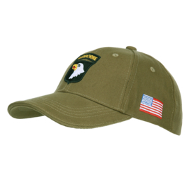 Baseball Cap 101st Airborne Groen
