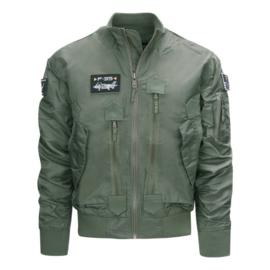 F35 Flight jacket groen