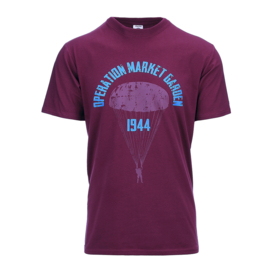 T-shirt Operation Market Garden Bordo
