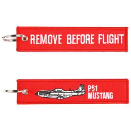 Sleutelhanger P-51 Mustang RBF
